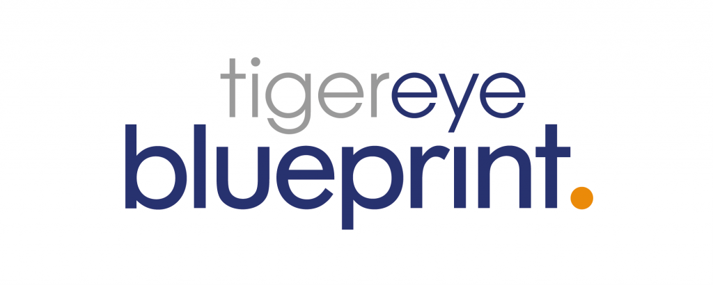 Logo for Tiger eye Blueprint: The Knowledge Management solution built for iManage