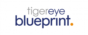 Logo for Tiger eye Blueprint: The Knowledge Management solution built for iManage