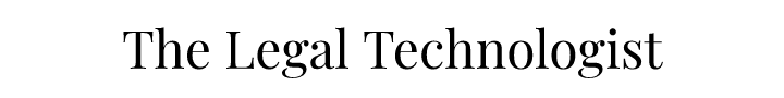 The Legal Technologist Logo