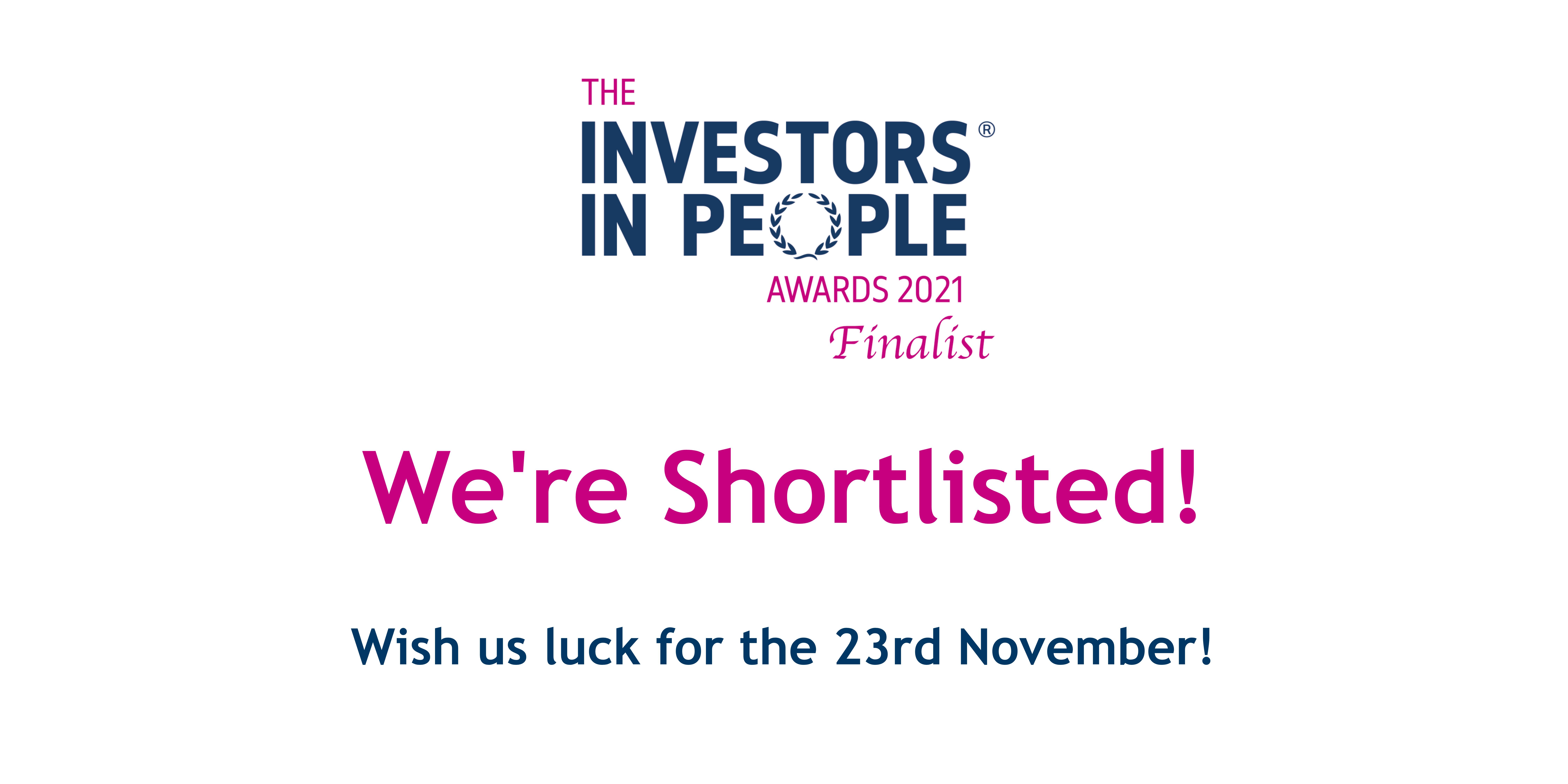 Investors in People shortlisted logo
